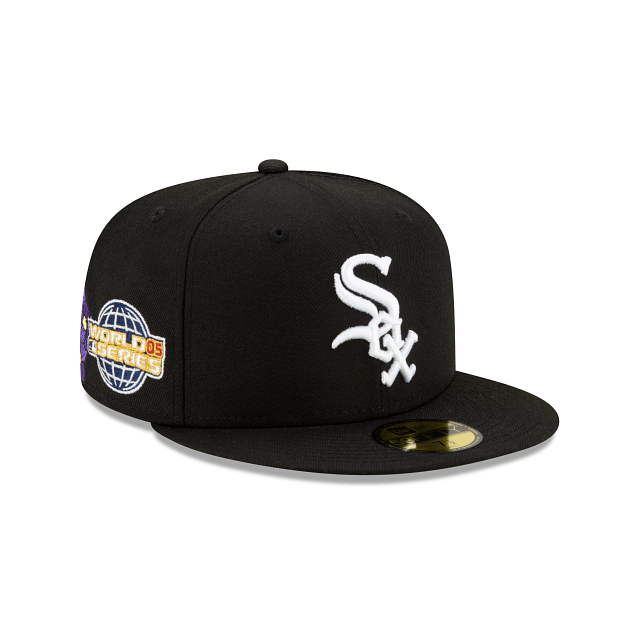 Chicago White Sox State Flower 59FIFTY Fitted | Chicago White Sox Hats | New Era Cap