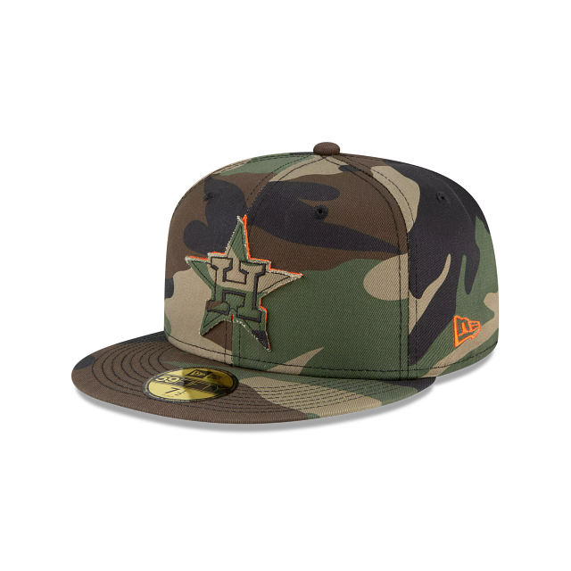 Houston Astros Forest Pop 59FIFTY Fitted | Houston Astros Hats | New Era Cap