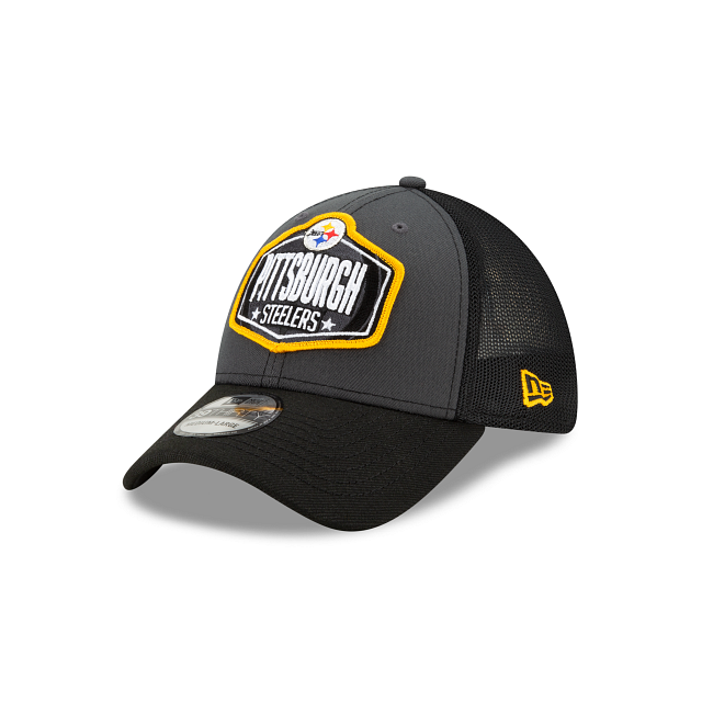 Pittsburgh Steelers NFL Draft 39THIRTY Stretch Fit | Pittsburgh Steelers Hats | New Era Cap