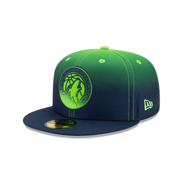 Minnesota Timberwolves Back HaLF 59FIFTY Fitted | Minnesota Timberwolves Hats | New Era Cap