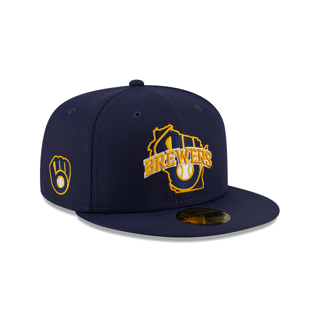 Milwaukee Brewers Local 59FIFTY Fitted | Milwaukee Brewers Hats | New Era Cap