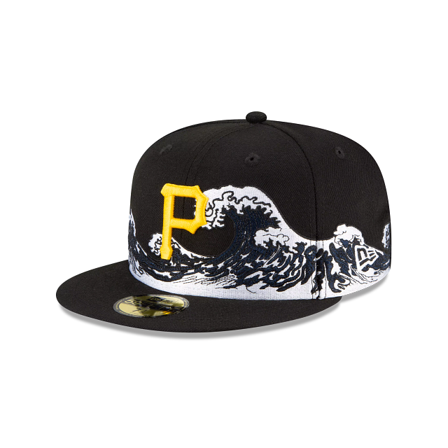 Pittsburgh Pirates Wave 59FIFTY Fitted | Pittsburgh Pirates Hats | New Era Cap