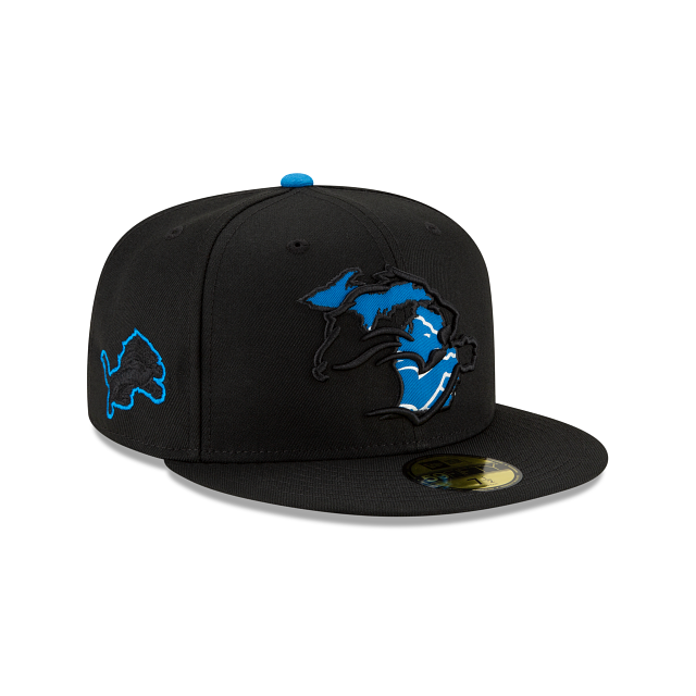 Detroit Lions State Logo Reflect 59FIFTY Fitted | Detroit Lions Hats | New Era Cap