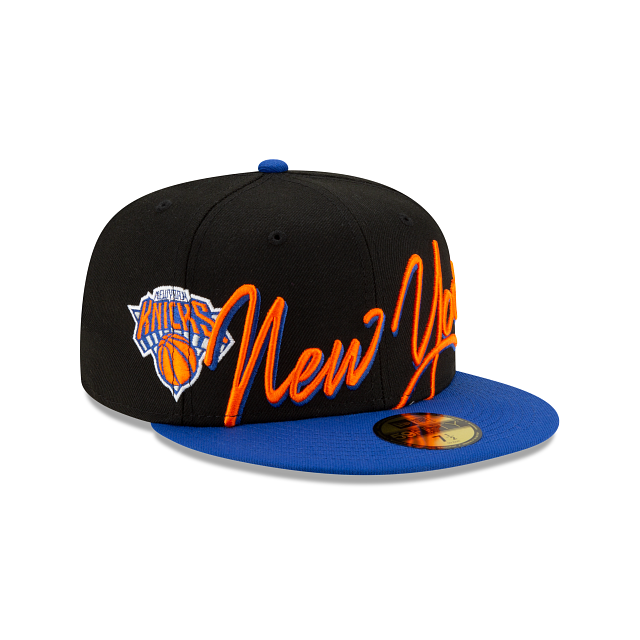 New York Knicks Cursive 59FIFTY Fitted | New York Knicks Hats | New Era Cap