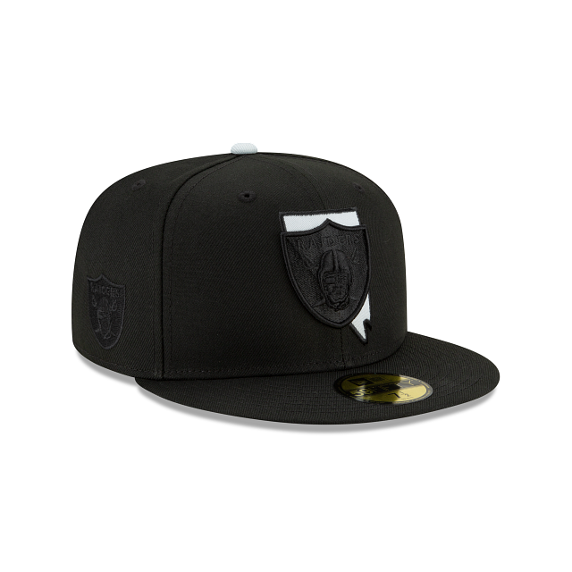 Las Vegas Raiders State Logo Reflect 59FIFTY Fitted | Las Vegas Raiders Hats | New Era Cap