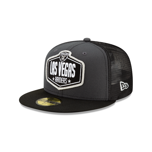 Las Vegas Raiders NFL Draft 59FIFTY Fitted | Las Vegas Raiders Hats | New Era Cap