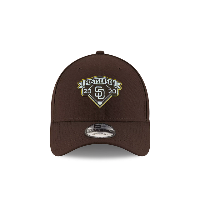 San Diego Padres Postseason Locker Room 9FORTY Adjustable | San Diego Padres Hats | New Era Cap