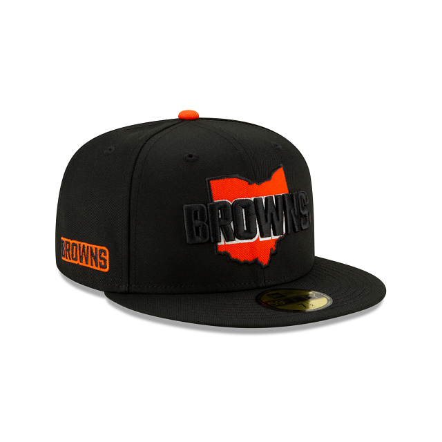 Cleveland Browns State Logo Reflect 59FIFTY Fitted | Cleveland Browns Hats | New Era Cap