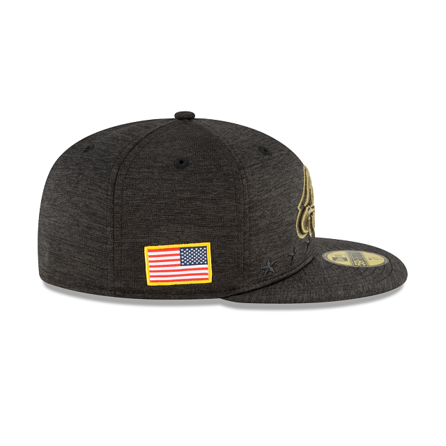 Philadelphia Eagles Salute To Service 59FIFTY Fitted | Philadelphia Eagles Hats | New Era Cap