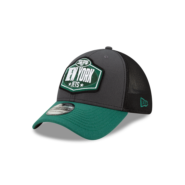 New York Jets NFL Draft 39THIRTY Stretch Fit | New York Jets Hats | New Era Cap