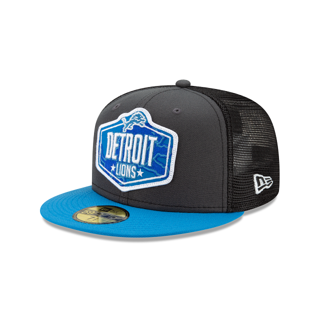 Detroit Lions NFL Draft 59FIFTY Fitted | Detroit Lions Hats | New Era Cap