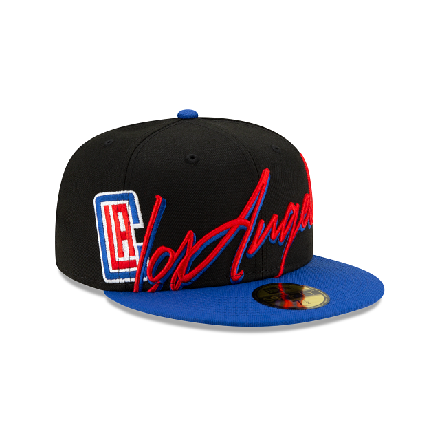 Los Angeles Clippers Cursive 59FIFTY Fitted | Los Angeles Clippers Hats | New Era Cap