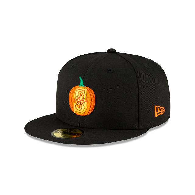 Seattle Mariners Carved Pumpkins 59FIFTY Fitted | Seattle Mariners Hats | New Era Cap