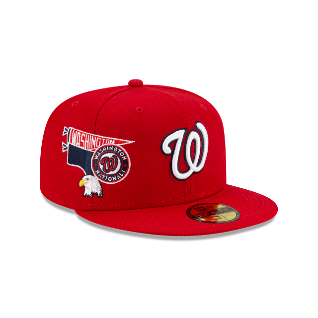 Washington Nationals City Patch 59FIFTY Fitted | Washington Nationals Hats | New Era Cap