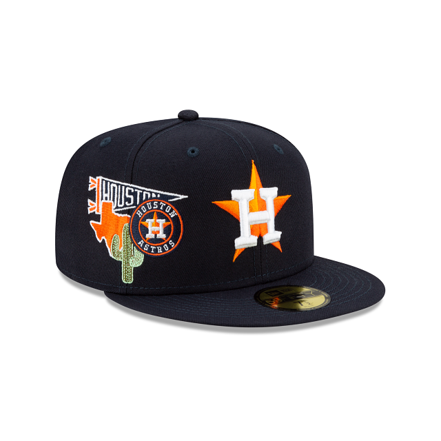 Houston Astros City Patch 59FIFTY Fitted | Houston Astros Hats | New Era Cap