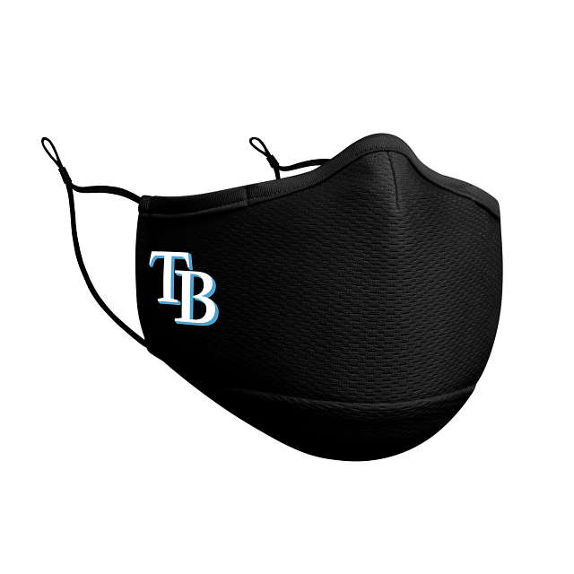 Tampa Bay Rays Black Face Mask | Tampa Bay Rays Face Coverings | New Era Cap