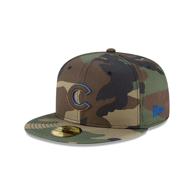 Chicago Cubs Forest Pop 59FIFTY Fitted | Chicago Cubs Hats | New Era Cap