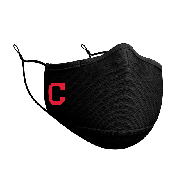 Cleveland Indians Black Face Mask | Cleveland Indians Face Coverings | New Era Cap