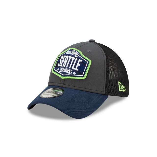 Seattle Seahawks NFL Draft 39THIRTY Stretch Fit | Seattle Seahawks Hats | New Era Cap