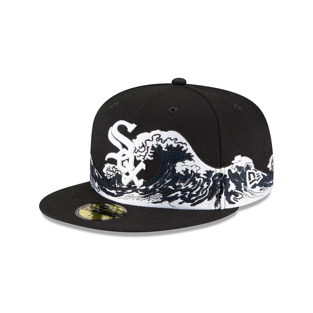 Chicago White Sox Wave 59FIFTY Fitted | Chicago White Sox Hats | New Era Cap