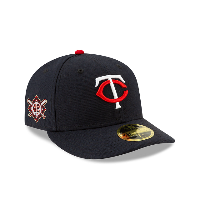 Minnesota Twins Jackie Robinson Day Low Profile 59FIFTY Fitted | Minnesota Twins Hats | New Era Cap