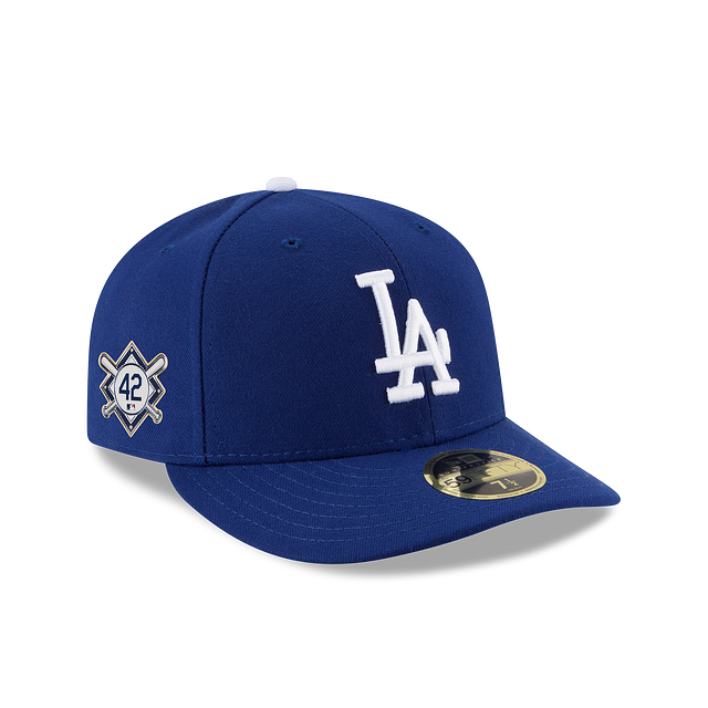 Los Angeles Dodgers Jackie Robinson Day Low Profile 59FIFTY Fitted | Los Angeles Dodgers Hats | New Era Cap