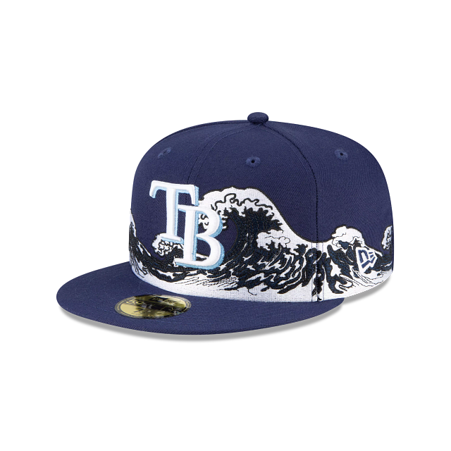 Tampa Bay Rays Wave 59FIFTY Fitted | Tampa Bay Rays Hats | New Era Cap