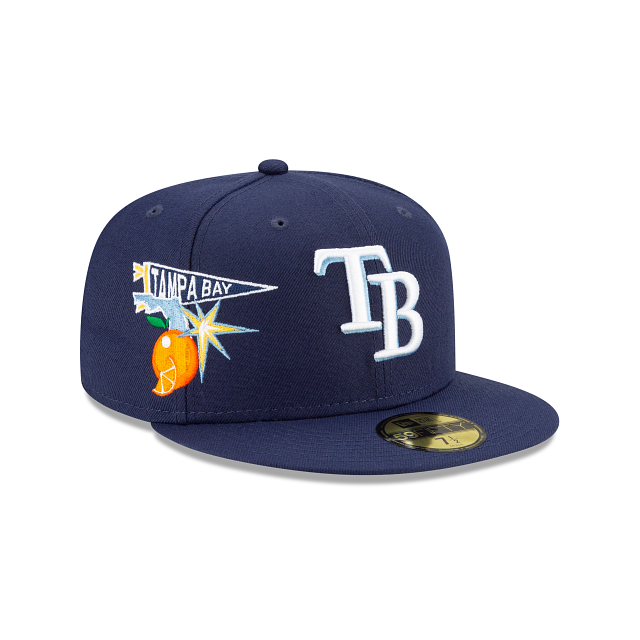 Tampa Bay Rays City Patch 59FIFTY Fitted | Tampa Bay Rays Hats | New Era Cap