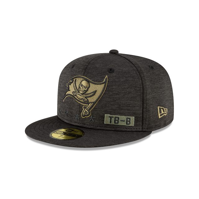 Tampa Bay Buccaneers Salute To Service 59FIFTY Fitted | Tampa Bay Buccaneers Hats | New Era Cap