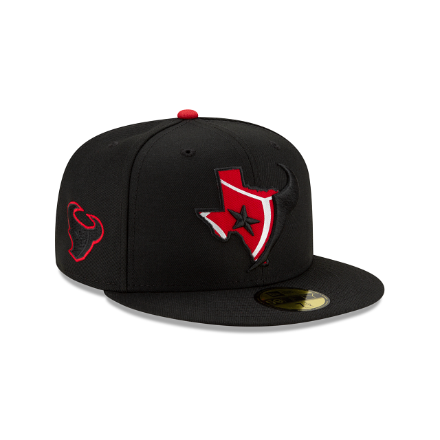 Houston Texans State Logo Reflect 59FIFTY Fitted | Houston Texans Hats | New Era Cap