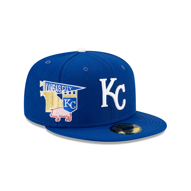 Kansas City Royals City Patch 59FIFTY Fitted | Kansas City Royals Hats | New Era Cap