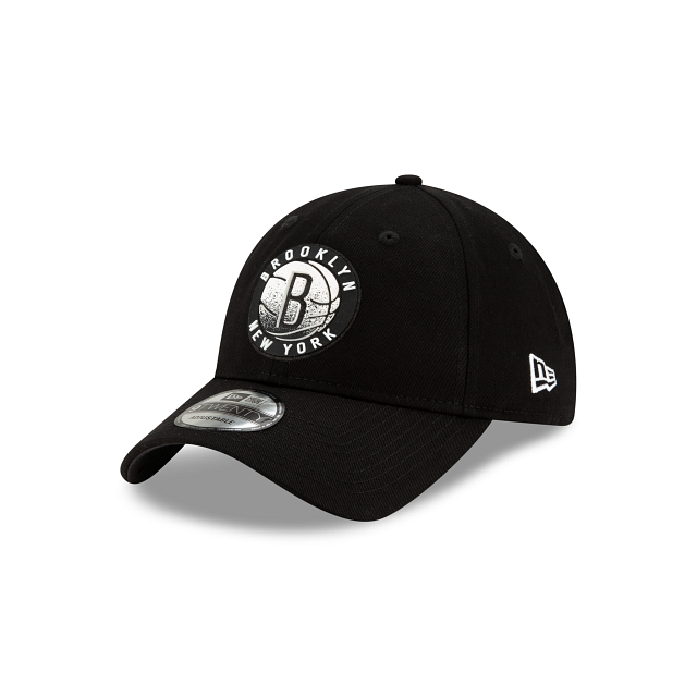 Brooklyn Nets Back HaLF 9TWENTY Adjustable | Brooklyn Nets Hats | New Era Cap
