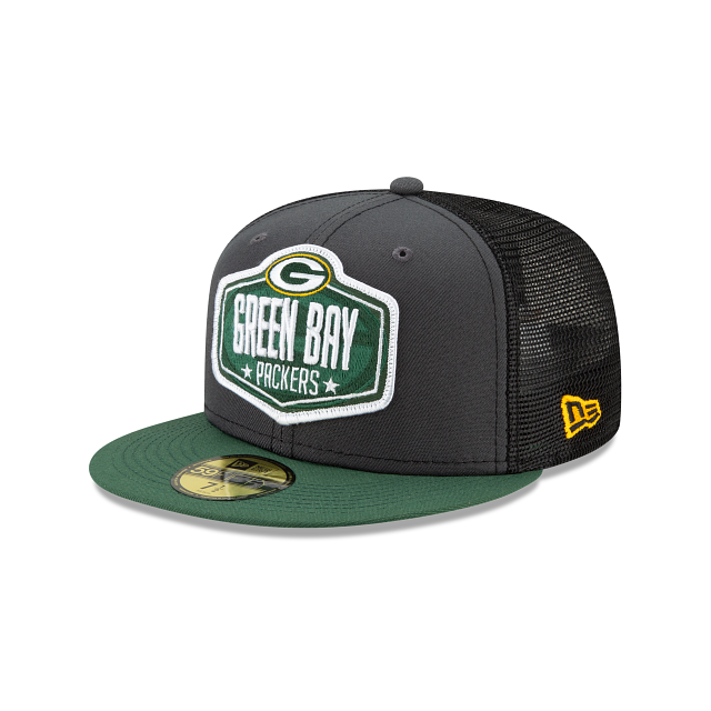 Green Bay Packers NFL Draft 59FIFTY Fitted | Green Bay Packers Hats | New Era Cap
