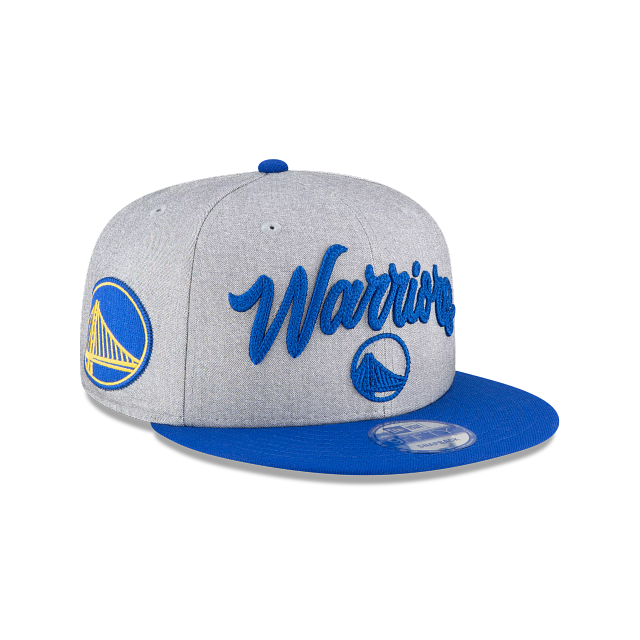 Golden State Warriors Official NBA Draft 9FIFTY Snapback | Golden State Warriors Hats | New Era Cap