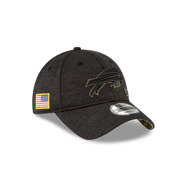 Buffalo Bills Salute To Service 9TWENTY Adjustable | Buffalo Bills Hats | New Era Cap