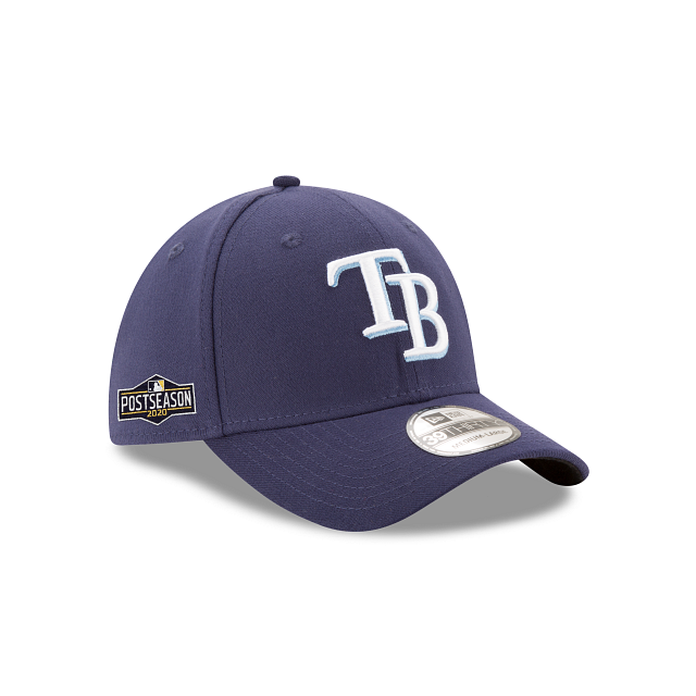 Tampa Bay Rays Postseason Side Patch 39THIRTY Stretch Fit | Tampa Bay Rays Hats | New Era Cap