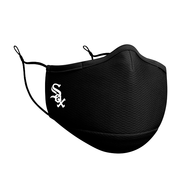Chicago White Sox Black Face Mask | Chicago White Sox Face Coverings | New Era Cap