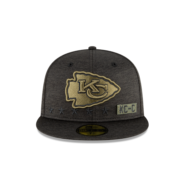 Kansas City Chiefs Salute To Service 59FIFTY Fitted | Kansas City Chiefs Hats | New Era Cap