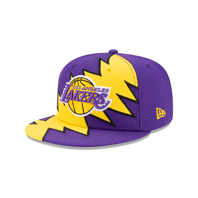 Los Angeles Lakers Flash 9FIFTY Snapback | Los Angeles Lakers Hats | New Era Cap