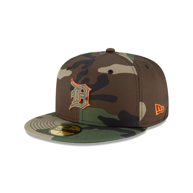 Detroit Tigers Forest Pop 59FIFTY Fitted | Detroit Tigers Hats | New Era Cap