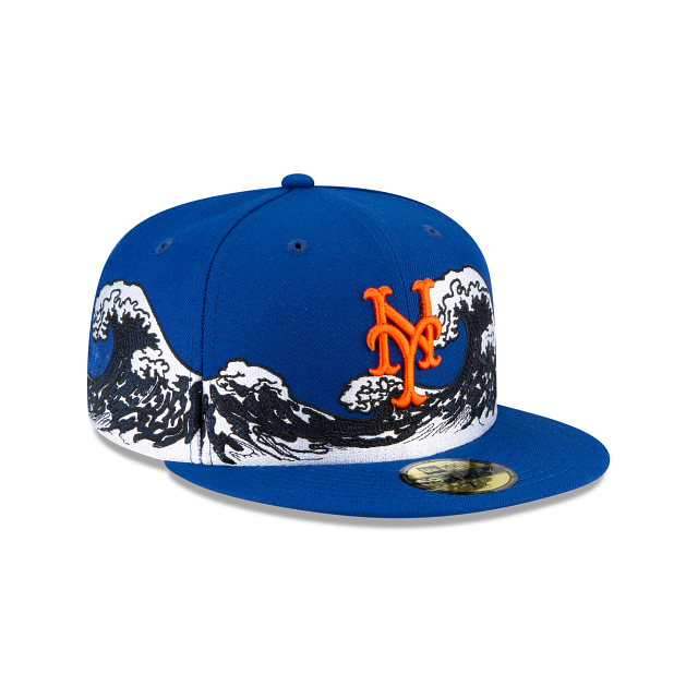 New York Mets Wave 59FIFTY Fitted | New York Mets Hats | New Era Cap