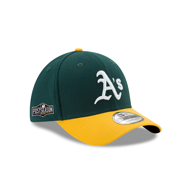 Oakland Athletics Postseason Side Patch 39THIRTY Stretch Fit | Oakland Athletics Hats | New Era Cap