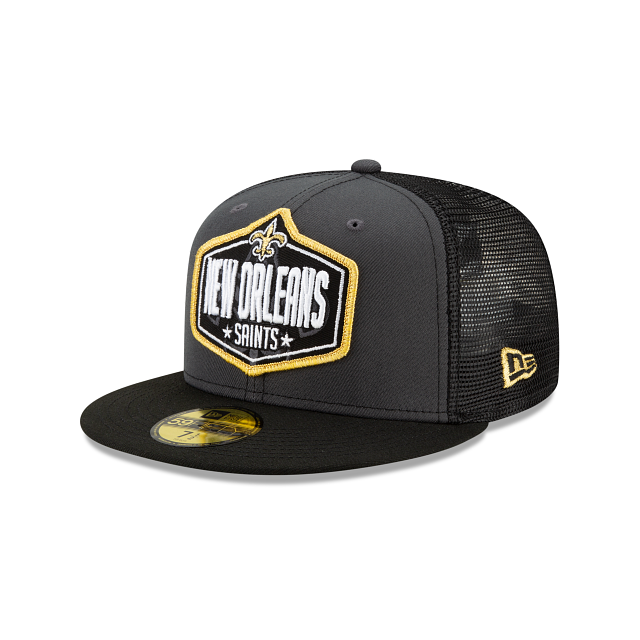 New Orleans Saints NFL Draft 59FIFTY Fitted | New Orleans Saints Hats | New Era Cap