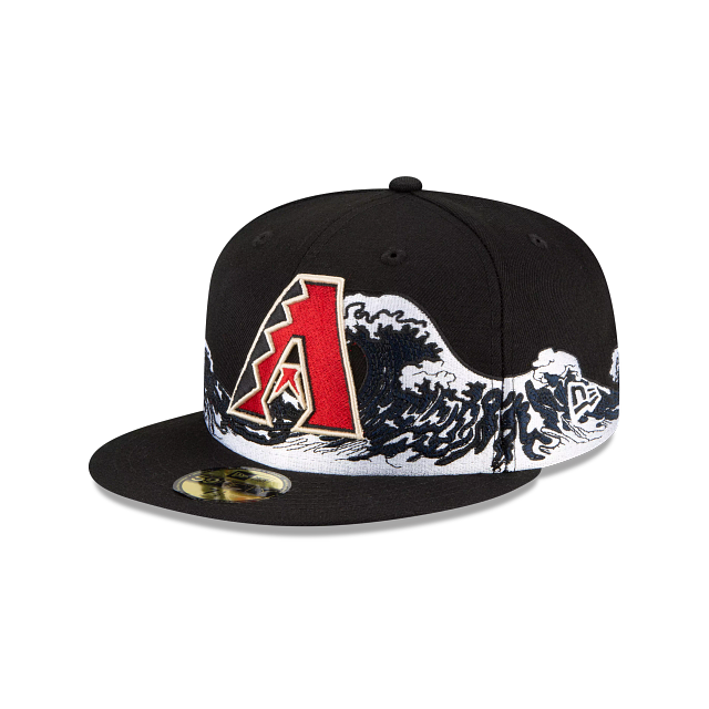 Arizona Diamondbacks Wave 59FIFTY Fitted | Arizona Diamondbacks Hats | New Era Cap