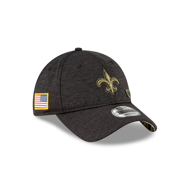 New Orleans Saints Salute To Service 9TWENTY Adjustable | New Orleans Saints Hats | New Era Cap