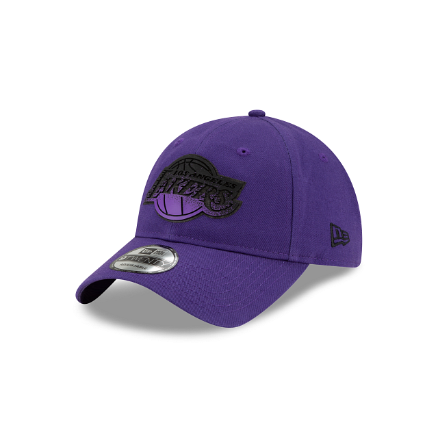 Los Angeles Lakers Back HaLF 9TWENTY Adjustable | Los Angeles Lakers Hats | New Era Cap
