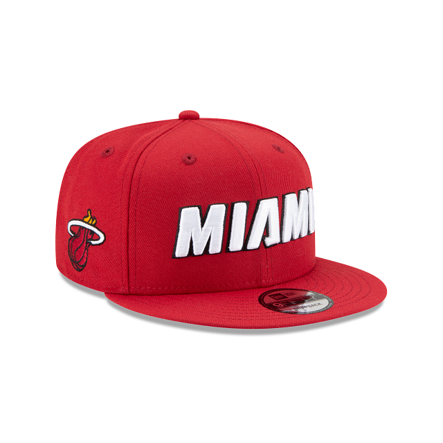 Miami Heat Statement Edition 9FIFTY Snapback | Miami Heat Hats | New Era Cap