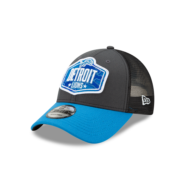 Detroit Lions NFL Draft 9FORTY Adjustable | Detroit Lions Hats | New Era Cap