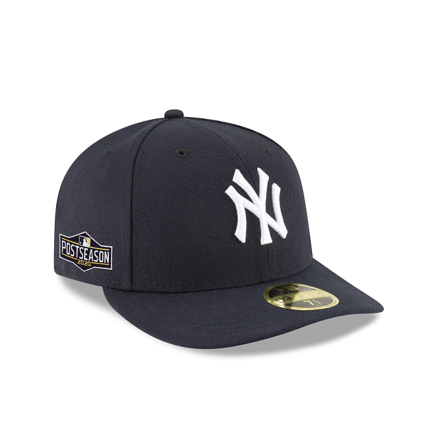 New York Yankees Postseason Side Patch Low Profile 59FIFTY Fitted | New York Yankees Hats | New Era Cap