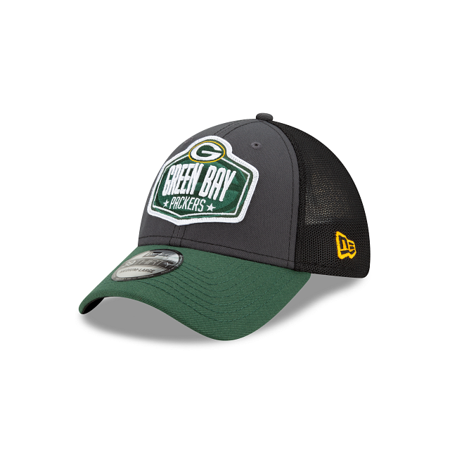 Green Bay Packers NFL Draft 39THIRTY Stretch Fit | Green Bay Packers Hats | New Era Cap